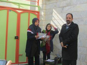 دهه فجر دبستان دخترانه ستاره نو آقای دکتر ظفرآسوده دبستان دخترانه منطقه 22